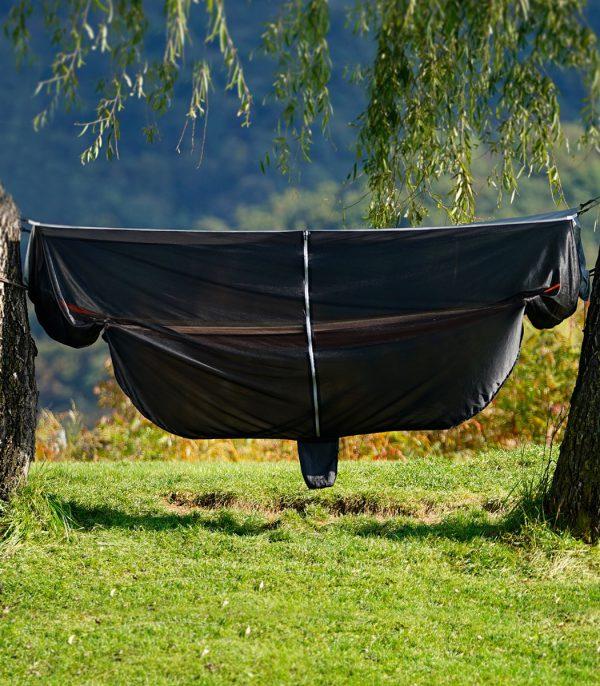כילת רשת נגד יתושים לתלייה מסביב לערסל. מתאימה לכל סוגי הערסלים