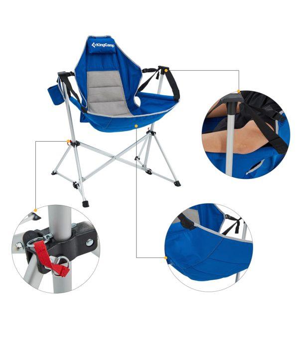 מושב והמשענת עשויים בד פוליאסטר איכותי ומאוורר נוח ומרווח מאוד
